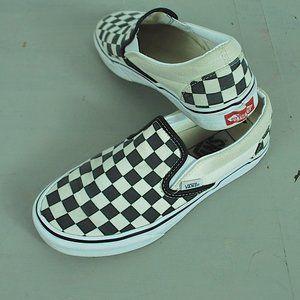 Vans Check Slip on shoes girls 6